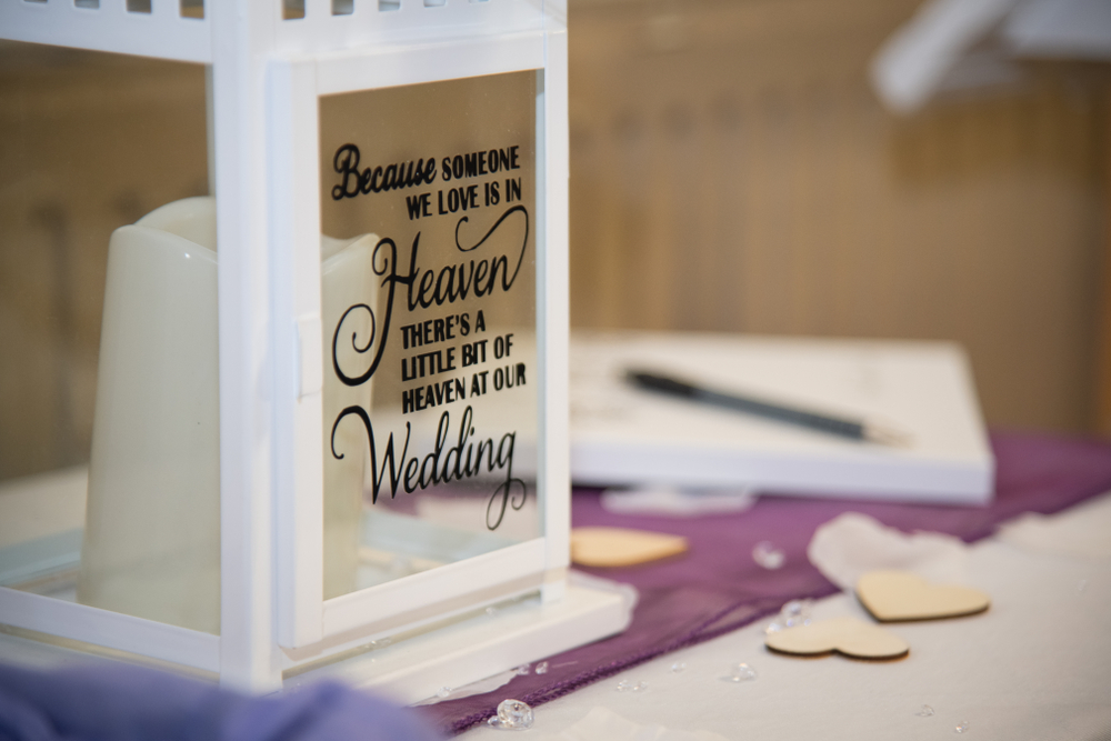 15 Wedding Memorial Table Decoration Ideas for Those Who Are Forever in Our Hearts