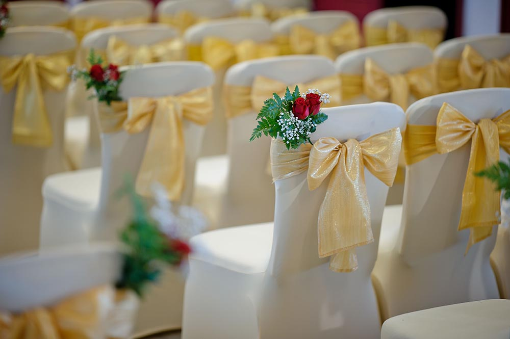 Banquet Chairs Or Bistro Chairs With Or Without Covers