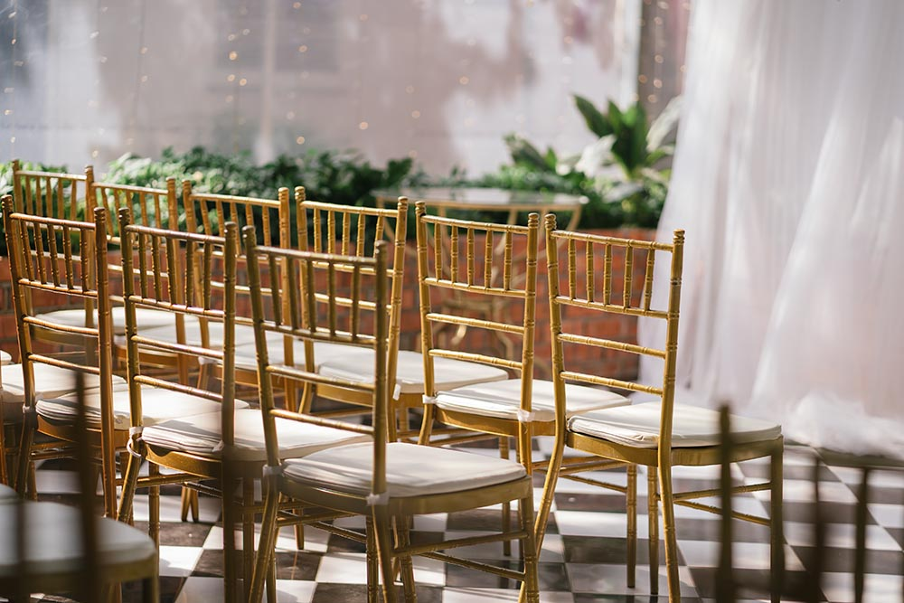 For Tiffany Chairs or Gold/Silver Chiavari Chairs
