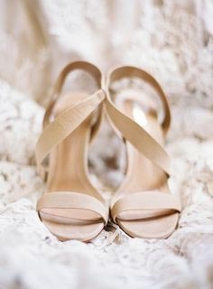 Nude & Neutral Color Wedding Shoes