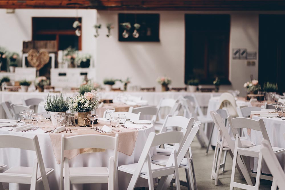 Renting Tables And Chairs For Your Wedding